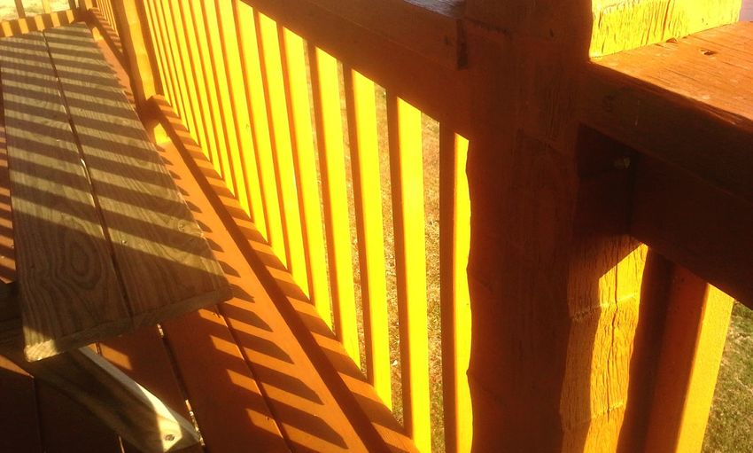 Paint The Town Yellow Yellow No People Architecture Handrail  Sunrise Light And Shadow Color