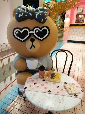 每一個都好可愛 7~ LINE Choco LineChoco Linefriends LineFriendsStore 熊大妹妹