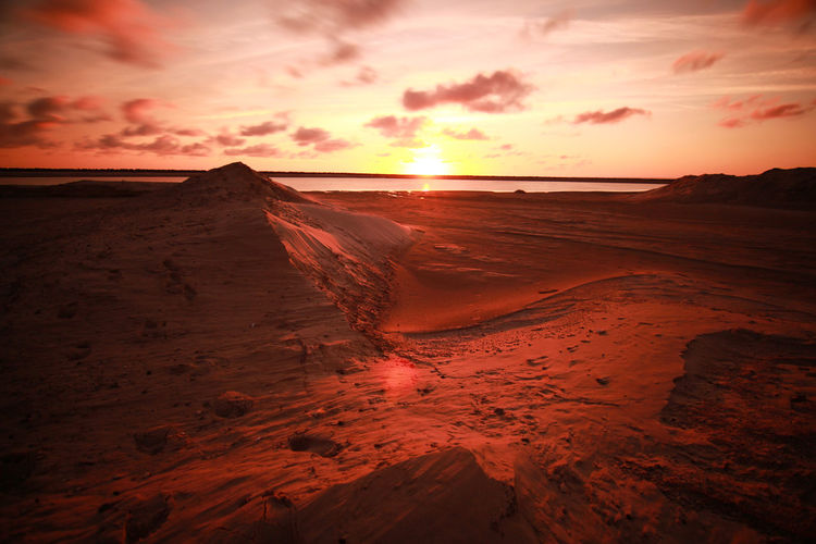 Accidents And Disasters Beauty In Nature Bone  Cloud - Sky Day Desert Dramatic Sky Environment Horizon Horizon Over Water Nature No People Norway Outdoors Romantic Sky Sand Sand Dune Scenics Sea Sky Sun Sunset Travel Weather First Eyeem Photo