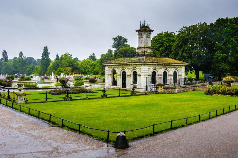 Hyde Park Against Sky