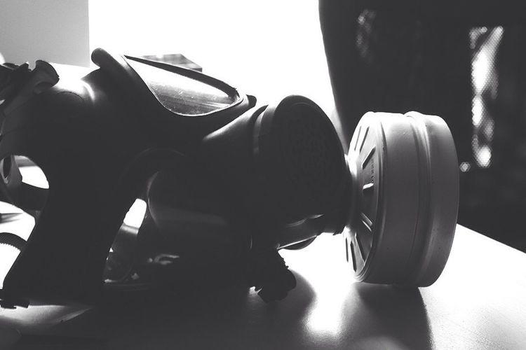 My gas mask.