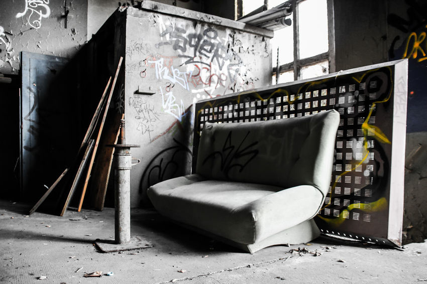 Leipzig Architecture Bahnbetriebswerk Built Structure Day Furniture Indoors  Lost Places In Leipzig Lostplaces No People