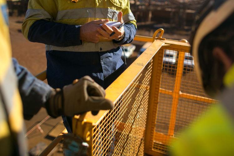 Miner worker
