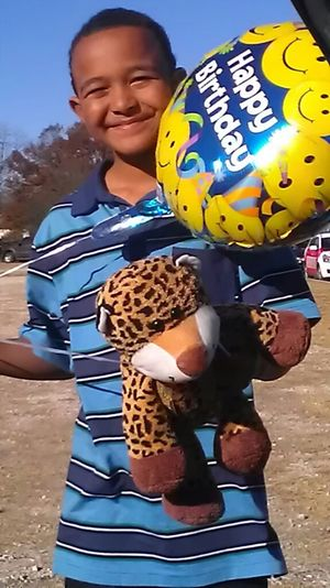 CELEBRATING BDAY WITH MY SON