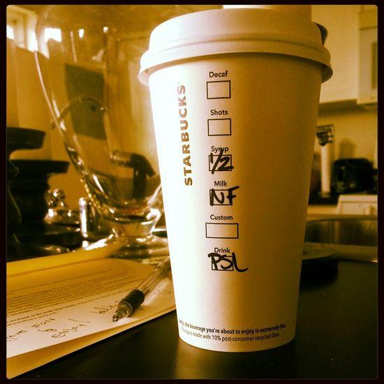 They're baaaaaaack.... :) Starbucks Fall Psl