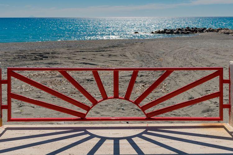 Red sun Nikonitalia Nikond750 Sea Land Water Beach Horizon Over Water Sky Sunlight Scenics - Nature Beauty In Nature Nature No People Horizon Architecture Tranquil Scene Sand Tranquility