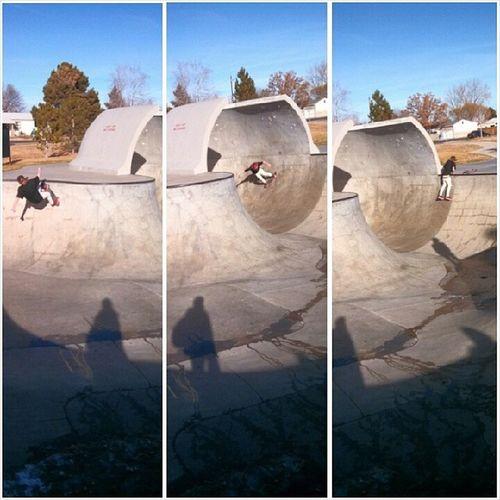 & y'all already know I'm having fun out here in Colorado.. Pioneerskatepark Bowlsesh Skateboarding Skateparks  Colorado Skatelife Skateeverydamnday Wfayo Highlife Lovethisshit