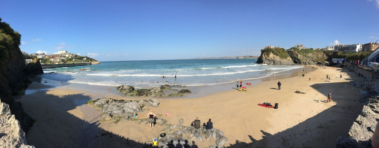Heaven Newquay Beach Uk Nature