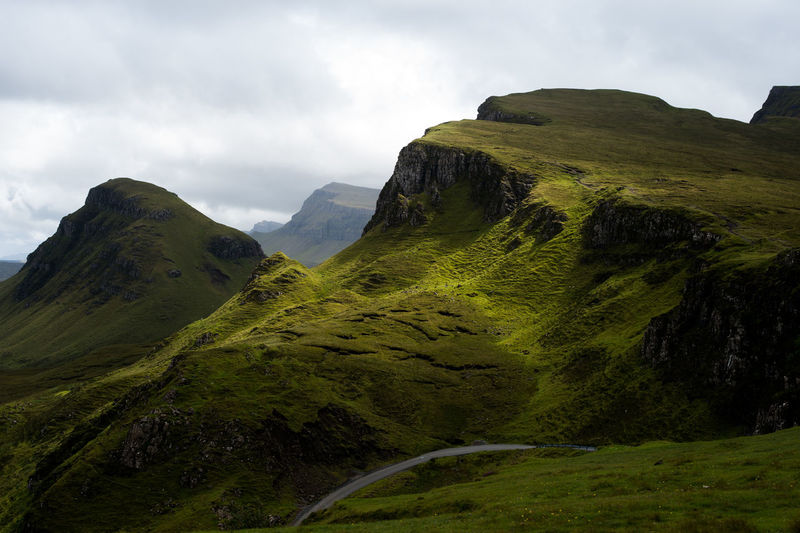 Scotland Travel Vacations Beauty In Nature Day Destination Greenery Landscape Mountain Nature No People Outdoors Scenics Sky