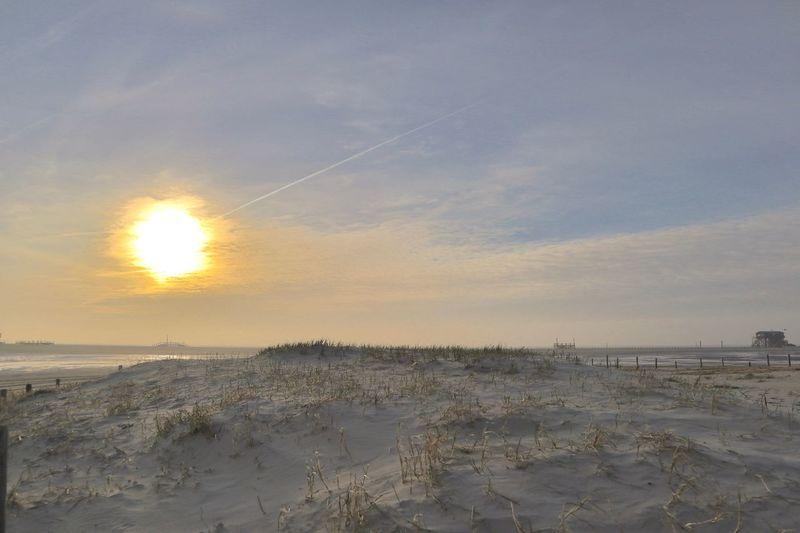 Sky Beach Land Sunset Water Scenics - Nature Sea