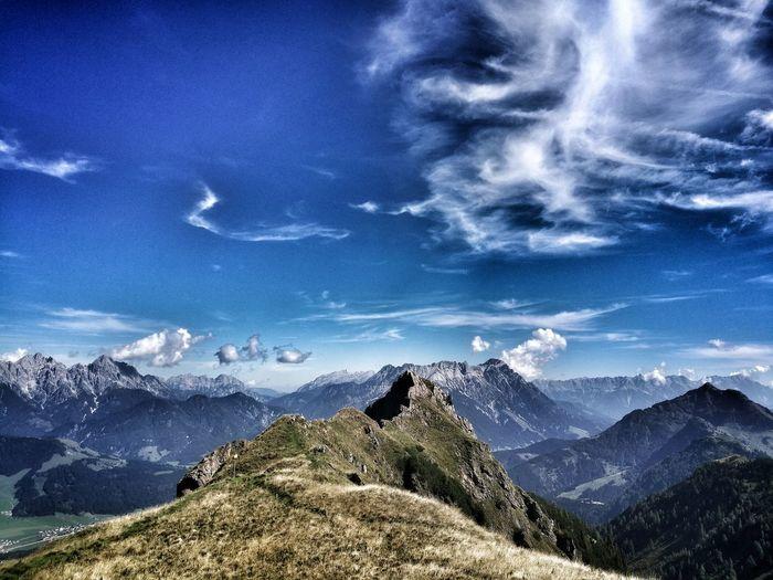 Nature Outdoors Happy Eyemphotography EyeEmNewHere Climbing Stone Hikking Austria Likeit Summer Loveit Mountain Sky
