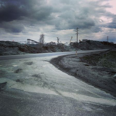 Cloud - Sky Sky Outdoors No People Day Novosibirsk Новосибирск горный Industry The Week On EyeEem