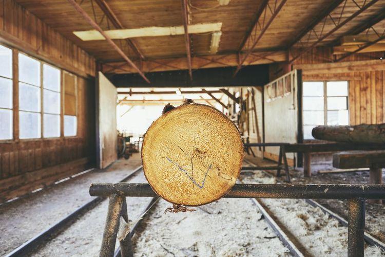 Log in factory