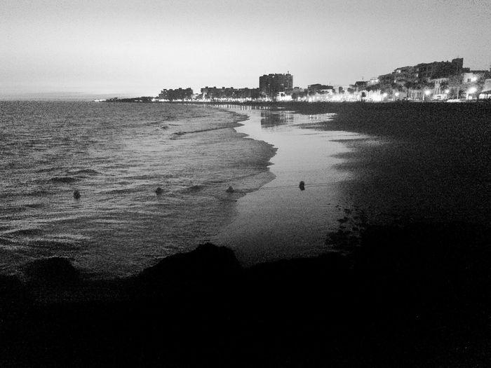 One Shot Sunlight Independent Eye SPAIN Andalucía Cadiz Rota Sunset Blackandwhite Taking Photos Iphone5s