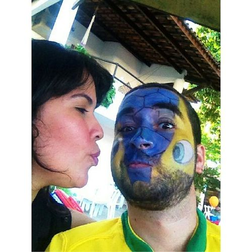 E a Fulecagem continua... Hahahahaha muito amor envolvido.... Fifa FIFAworldcup Copadomundo Copa2014 brasil