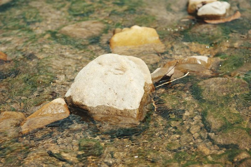 River Rock River Water Sand Rock - Object Close-up Stone Calm Stone - Object Rock Stream