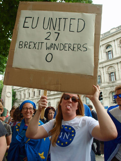Stop Brexit-We Only Want To Be With EU. 23-06-2017 Anti BREXIT protest opposite Downing Street. Whitehall, London #no10vigil. #vigilagainstbrexit Brexit Brexit Protest British Politics Downing Street Europe European  London News Olympus Photojournalism Politics Politics And Government Remainers Steve Merrick Stevesevilempire Stop Brexit We Only Want To Be With EU Whitehall Zuiko