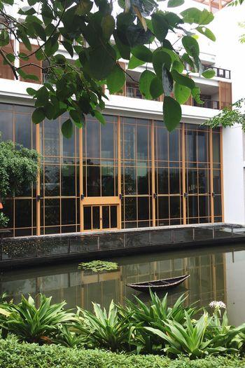Hotel Angsana Building Pond