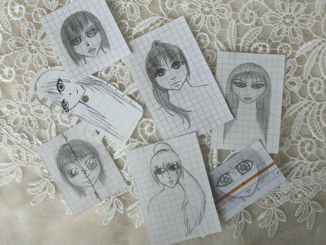 Drawing Anime Manga Zeichnung  Art Draw Comic Zeichnung  Pencil Pen Bleistift Getting Inspired Woman Inspired Gemalt Girl Selfmade
