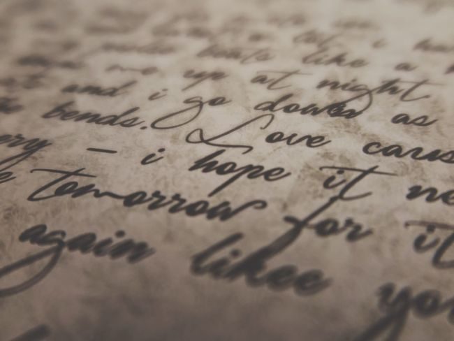Text Paper Indoors  Selective Focus Fine Art Photography Close-up Education Communication Full Frame Feelings Solution Love Letter Letters Emotions Emotion Vintage Vintage Style Loveletters Love Letter Focus Word Words Font Still Life