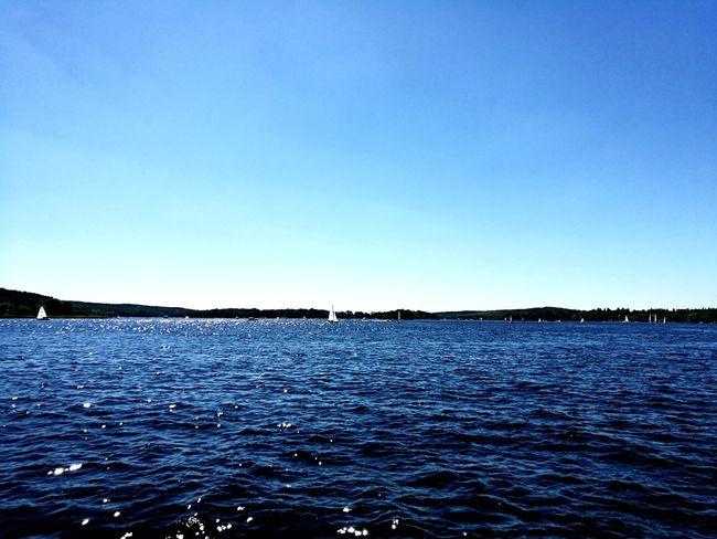 Blue Water Clear Sky