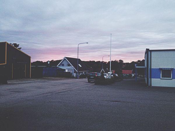 Sky Pink Sky Hanging Out Midsummer