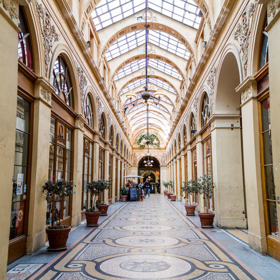 Arch Architecture Galleries Indoors  The Way Forward
