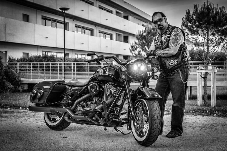 Biker Black &