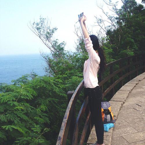 Seaside Weizhoudao Sea And Mountain Guangxi China