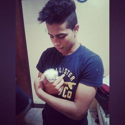 Eu e essa gatinha linda :)