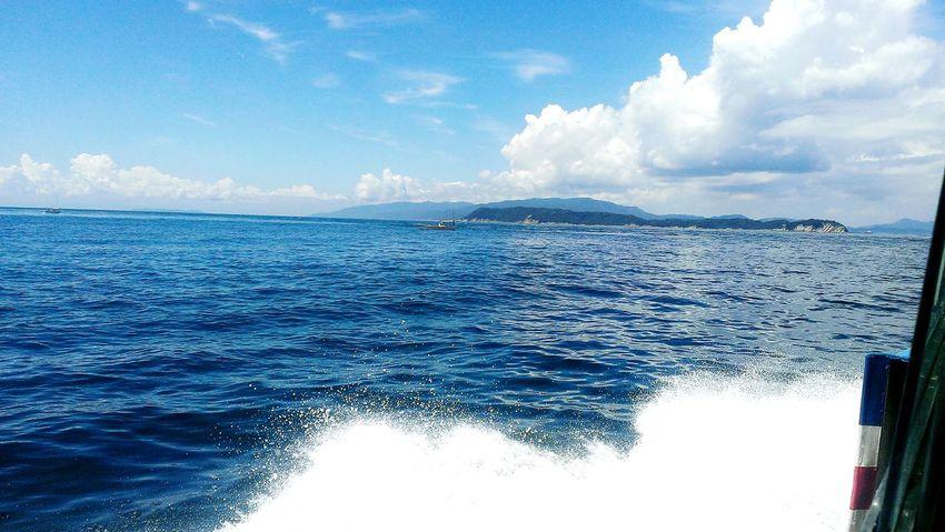 加太湾 Kada Bay 和歌山 Wakayama Japan Sea And Sky