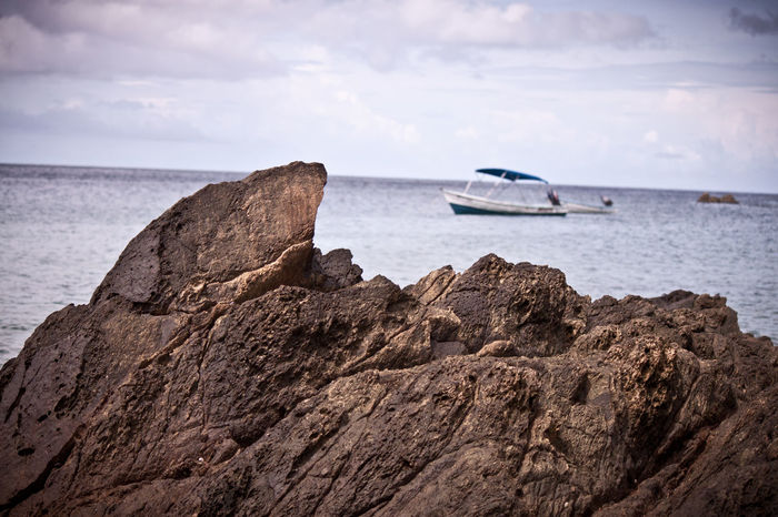 Beach Beauty In Nature Cloud - Sky Day Mode Of Transport Nature Nautical Vessel No People Outdoors Sea Sky Water Beachphotography Beach Photography Tobago Castara Bay