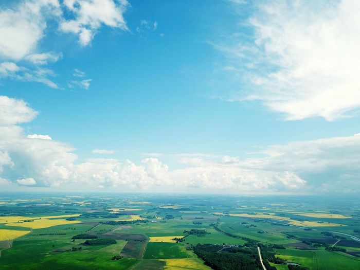 City Urban Skyline Cityscape Skyscraper Blue Aerial View Sky Cloud - Sky Landscape Patchwork Landscape Farmland Agricultural Field Cultivated Land Oilseed Rape Crop  Plantation Bale  Farm View Into Land The Fashion Photographer - 2018 EyeEm Awards The Great Outdoors - 2018 EyeEm Awards