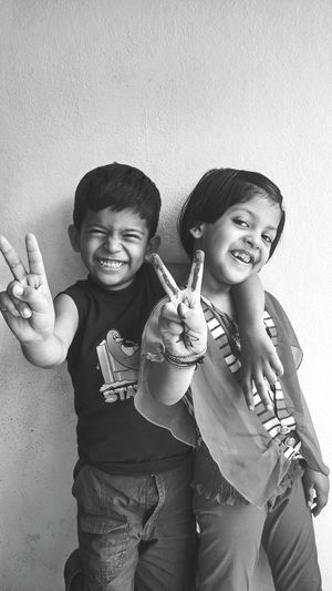 Tag teams Two People Smiling Happiness Portrait Childhood Cheerful Togetherness Children Photography Say Cheese Memories Happiness Stories From The City Inner Power This Is Family Elementary Age Brother Sister 8-9 Years Kid Children Family Bonds Primary Age Child Sibling Visual Creativity Love Is Love The Portraitist - 2018 EyeEm Awards