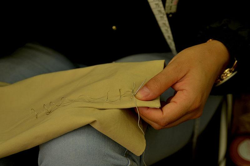 Hands At Work Tailor Tailor Man Tailoring Tailormade