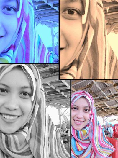Me Myself Hijab Selfie I'm Proud To Be Muslim