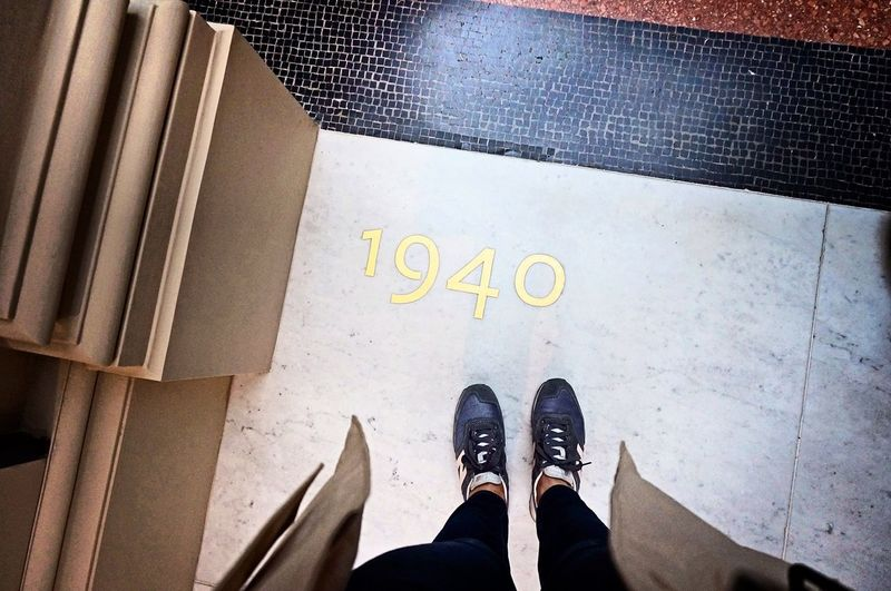 One step and I am in 1940's TateBritain Museum