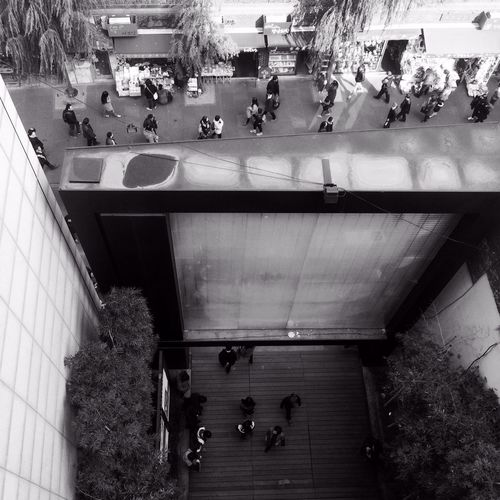 Birds eye view Mobiography Blackandwhite WeAreJuxt.com IPhoneography