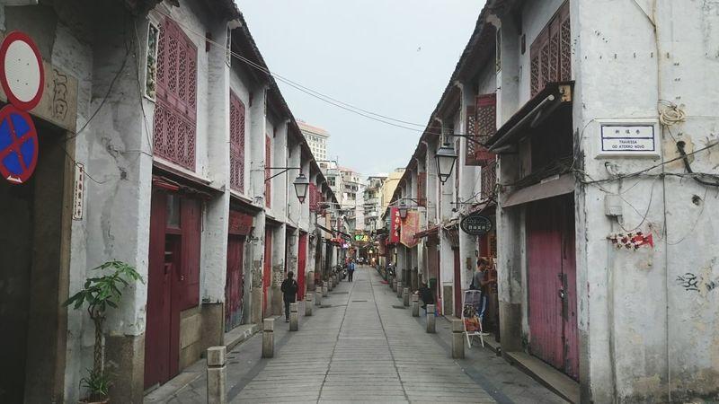 Macau Old Buildings Alley Eyeemawards16 Neighborhood Map
