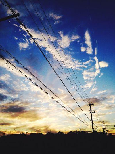 今日の空です♪ 空