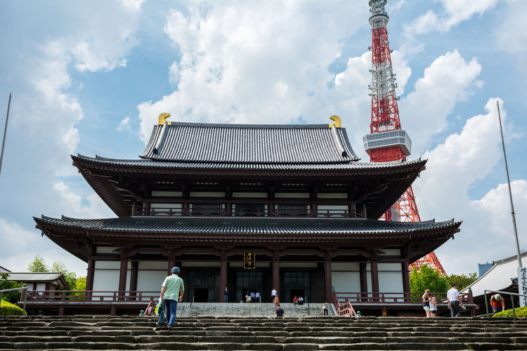 Zojo Ji Tokyo Buddha Buddhism Colors Faith Flower Japan Japanese  JI Monk  Religion Shrine Temple Tokyo Tokyo Tower Zojoji Zojojitemple