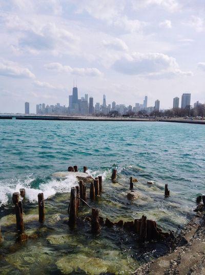 Chicago Chicago Skyline Chicagoshots Lakemichigan