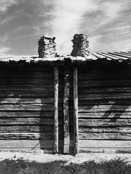 Inari, Finland Siida Architecture Sky No People Outdoors Low Angle View Building Exterior Lapland, Finland Museum Old Way Of Life Blackandwhite Photography Black And White Blackandwhite Black & White Architecture Lapland Old-fashioned EyeEmNewHere