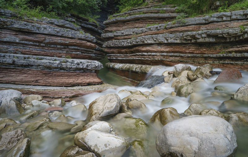View of rock formation