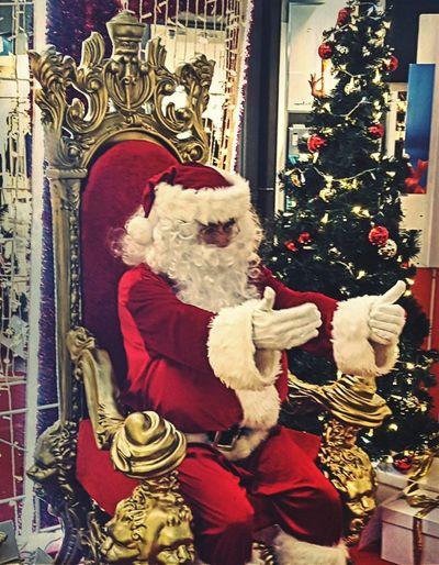 Santa Claus Christmas Lights Noël Père Noël No People EyeEmNewHere