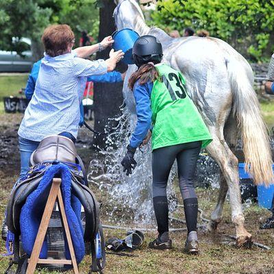 Carreras Raider Asistencias Group Of People Horse Caballos 🐎🐎👢 @airendurance Water Leisure Activity EyeEmNewHere