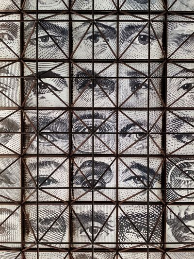 Iluminati  Full Frame Indoors  Backgrounds Pattern Window No People Day Built Structure Architecture Sky
