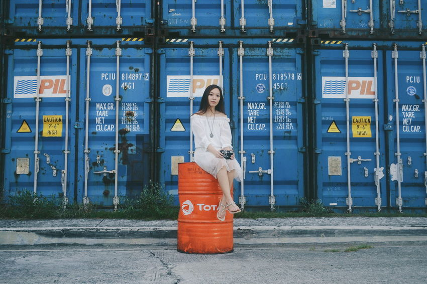 Hey. Woman Cinematography Whitedress VSCO NikonD3100 Asianlook Week On Eyeem Women Of EyeEm Feels Portraiture Camera Asiangirl Philippines