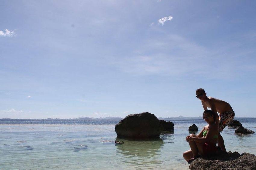 fun under the sun with my love Coron, Palawan 4th Anniversary  Canonphotography EyeemPhilippines 👍👌🏊☀☁🌞😎⛅🏄🗾
