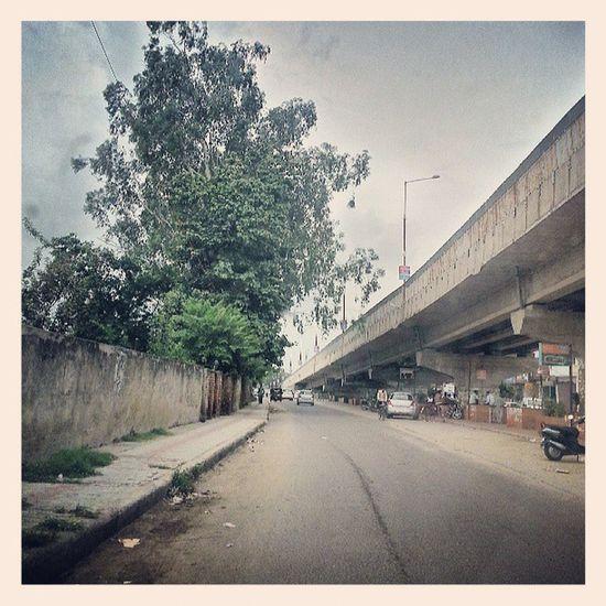 Patiala India Instagood Instapic instadaily instacool flyover railwaycrossing monsoon galaxynote2 sierra like follow